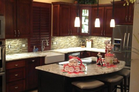 Dallas Transitional Kitchen