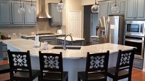 Plano - Contemporary Kitchen - Kitchen Remodel with open-concept design