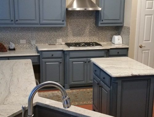 Plano - Contemporary Kitchen - Kitchen Remodel with open-concept design and in-counter sink