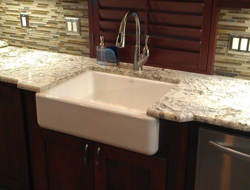 Dallas - Transitional Kitchen - Kitchen Remodel with farmhouse sink
