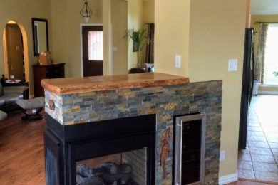 CUSTOM CABINETS AND FIREPLACES