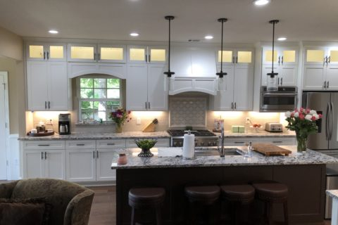 Kitchen Reconfiguration – Colleyville